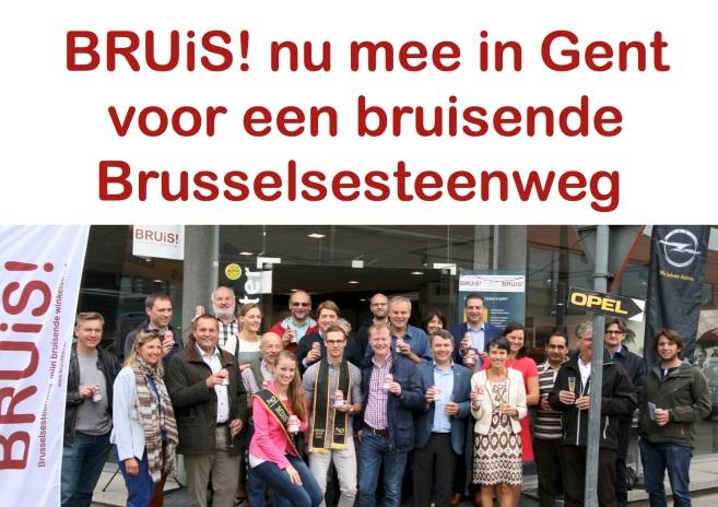 bruis mee Brusselsesteenweg