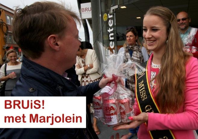bruis met Marjolein